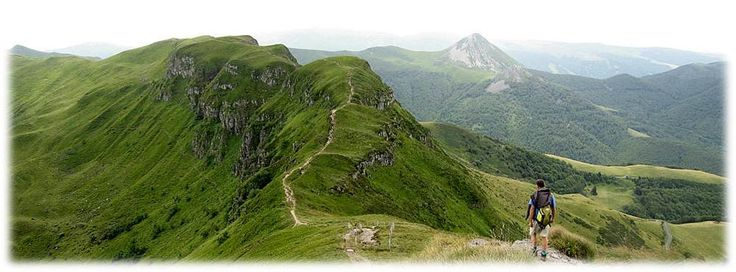 Hiking in France - Walking in Cantal