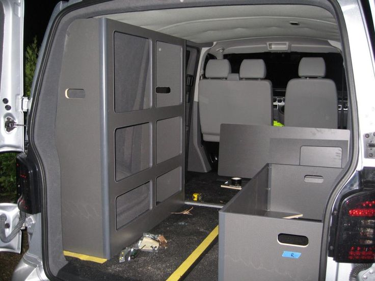 Removable and affordable camper conversion my build for Vw t4 interior designs