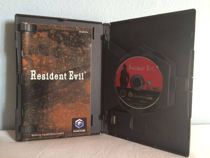 Resident Evil game opened.