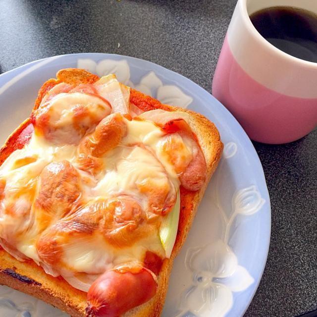 ピーマンのないピザトースト - 44件のもぐもぐ - ピザトースト by erityp2diab78