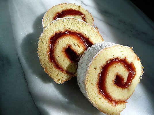 Sponge Cake Jelly Roll Recipe: 81 Best Jelly Rolls And Sponge Cakes Images On Pinterest