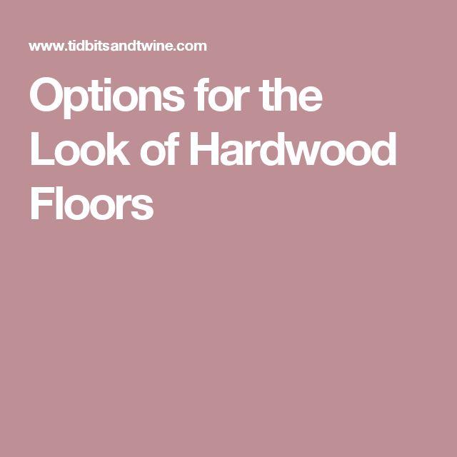Bathroom Flooring Options Ideas: 1000+ Ideas About Flooring Options On Pinterest