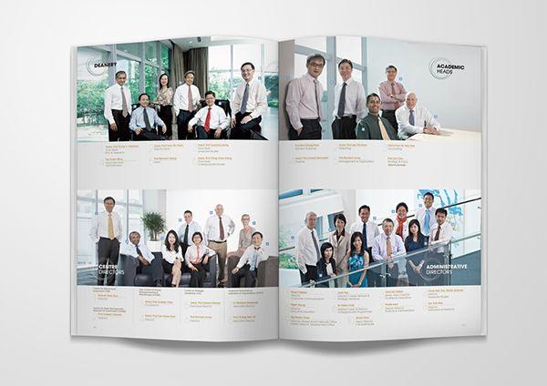 NUS Singapore Annual Report 2012 on Behance