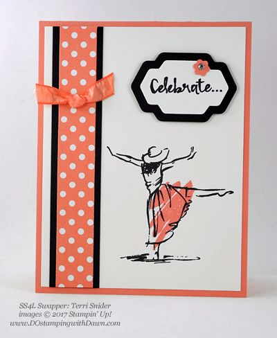 Stampin' Up! Beautiful You swap cards shared by Dawn Olchefske #dostamping(Terri Snider)