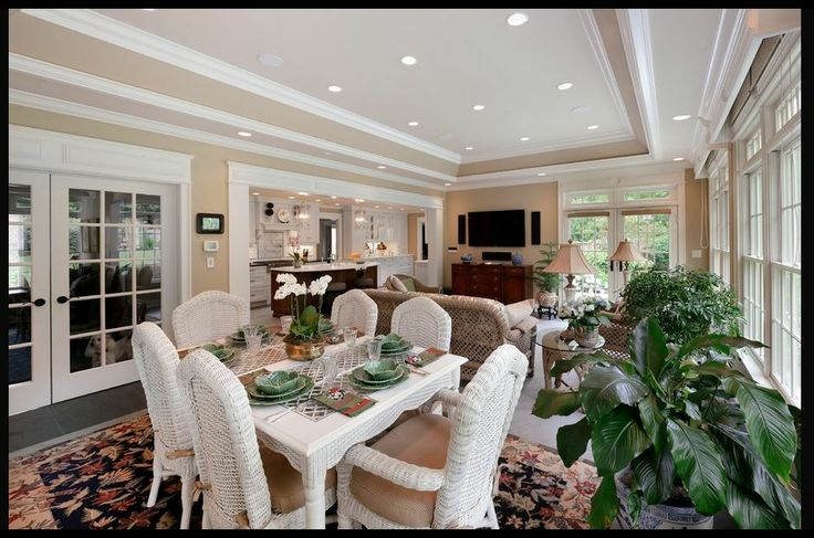 175 best images about sunroom ideas enclosed porches on pinterest ceilings sunroom windows - Sunroom off kitchen design ideas ...
