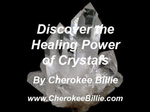 Learn How to Use Crystals with Spiritual Advisor Cherokee Billie. http://cherokeebillie.com/Chakra-Balancing-.html