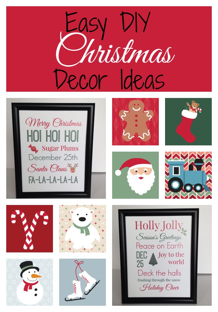17 Best Images About Christmas Decor On Pinterest Easy Christmas Decorations Big Bows And