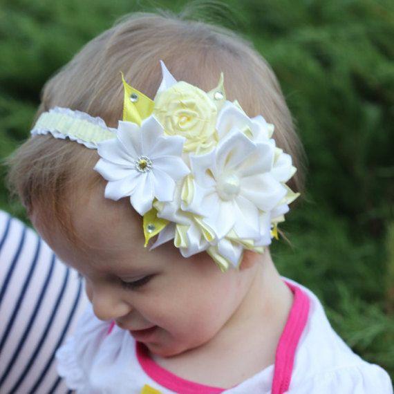 Fascia del bambino ragazza fascia neonato Head band