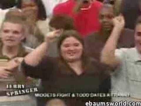 Funny midget fight from Jerry Springer