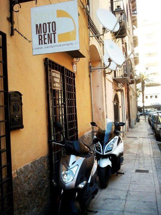 Sicilian Street in Palermo
