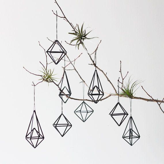 Geometric Christmas ornaments. 10 Gorgeous Handmade Holiday Ornaments