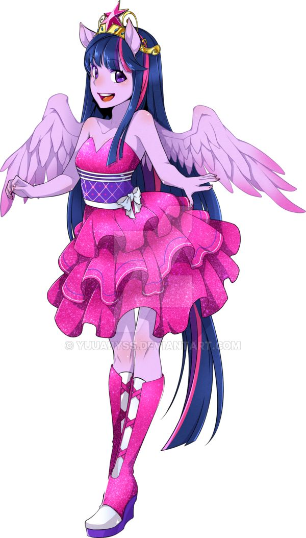 #999898 - artist:yuuabyss, equestria girls, fall formal dress, obtrusive watermark, princess twilight, safe, solo, twilight sparkle - Derpibooru - My Little Pony: Friendship is Magic Imageboard