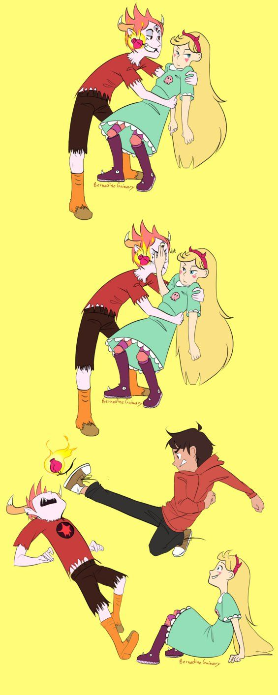 I think this goes back to Marco being overprotective of star though. She doesn't want him to help with Tom, she can handle herself.