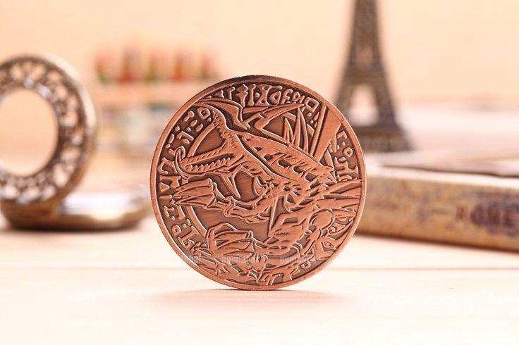 Custom metal coins redeyes bdragon yugioh big logo