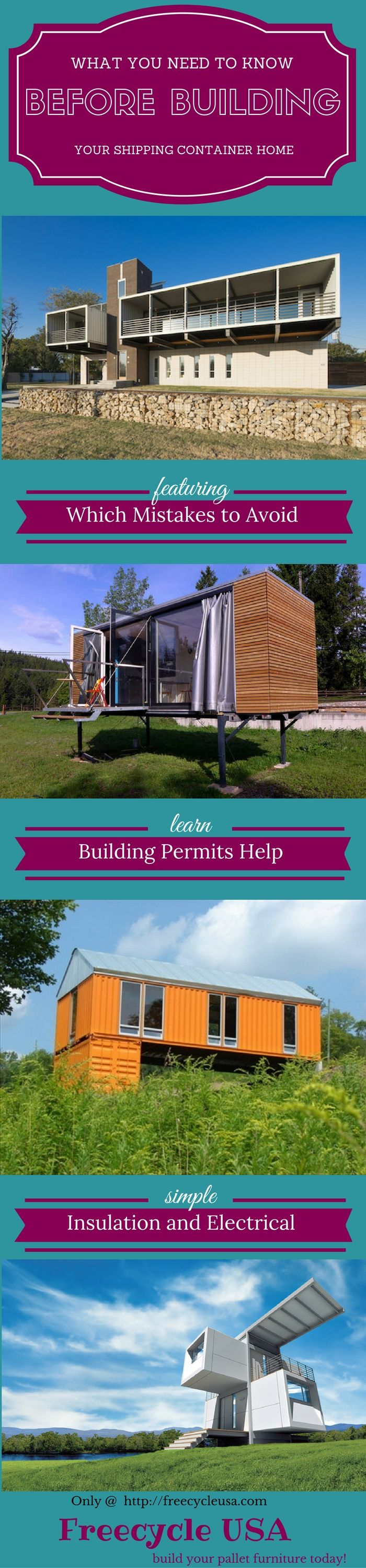 How To Build Your Own Shipping Container Home When it comes to building your own shipping container home there are many things we need to consider. I imagine you've already searched for various other guides online, however many of these guides don't contain the crucial information which you need. Most people who want to build …