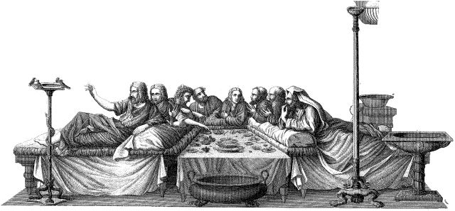 the idea of banqueting is ancient The idea of banqueting is ancient  as the idea of banqueting developed,  documents similar to history of banquet and catering.