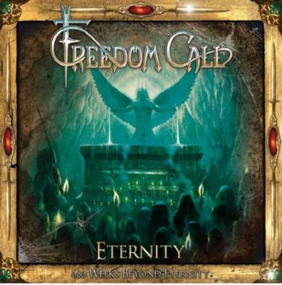 """The 27th April release of the German metal band Freedom Call a special edition of the 2002 album """"Eternity"""" which will contain the following materials:  CD"""