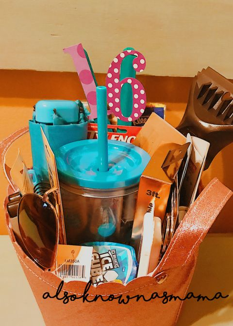 16th Birthday Gift Basket