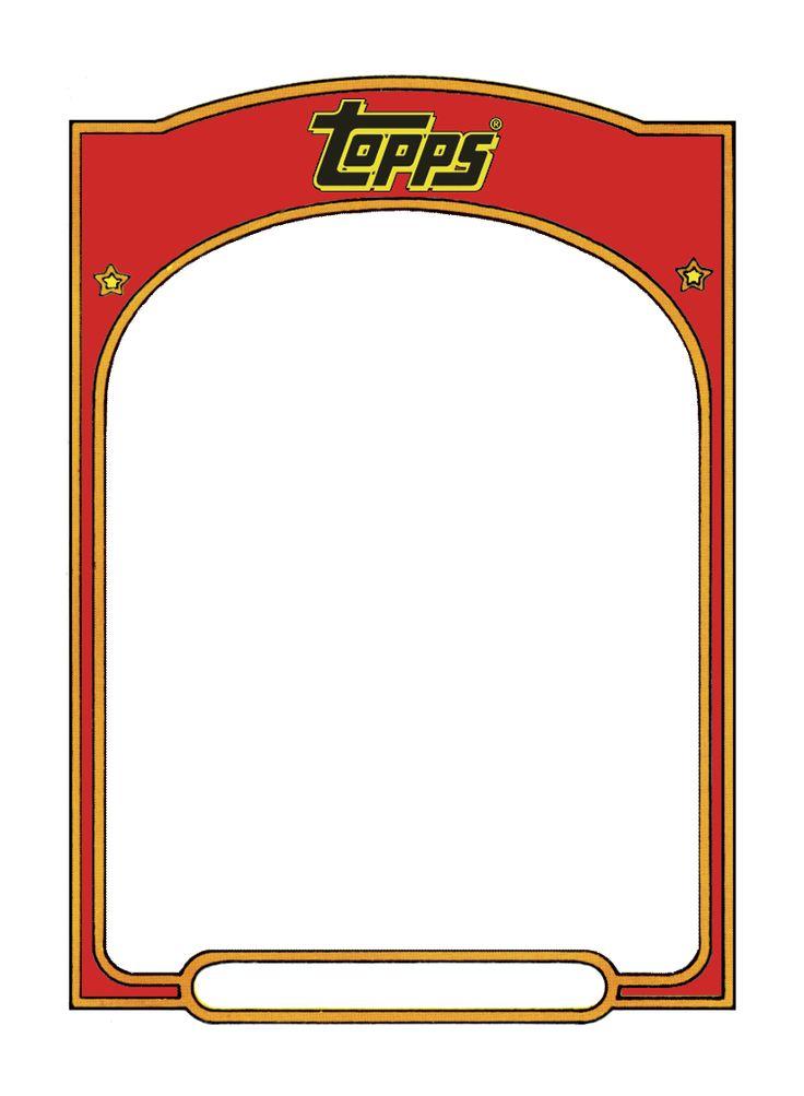 Baseball Card Background Template Yeniscale