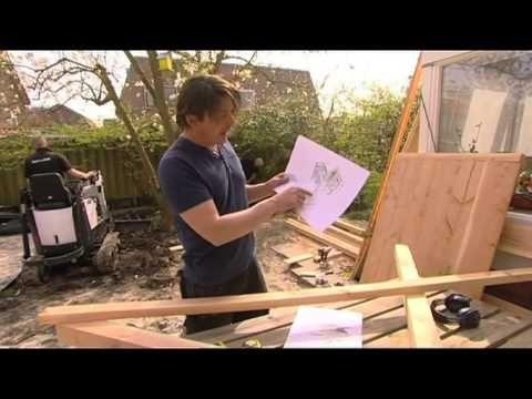 Eigen Huis & Tuin | 26 april 2014 | kinderhut maken - YouTube