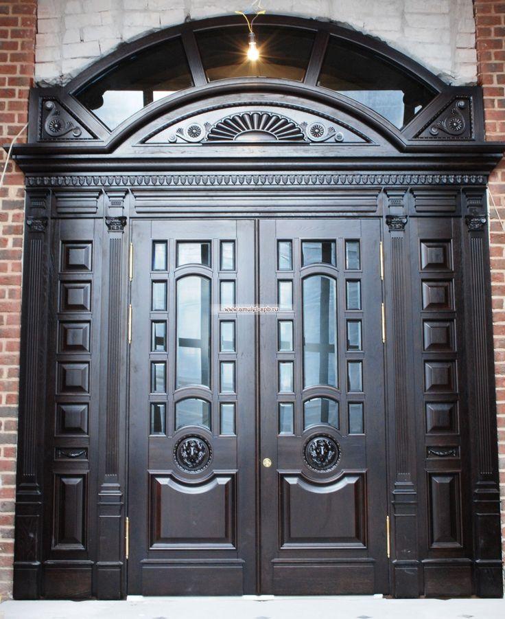 Элитные деревянные двери на заказ. Эксклюзивные входные и межкомнатные двери из массива - Амулет-арТ, Санкт-Петербург