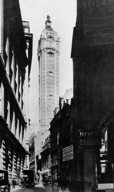 New York Architecture Images- Singer Building