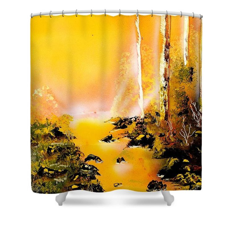 Printed with Fine Art spray painting image Yellow River Nandor Molnar (When you visit the Shop, change the background color and image size as you wish)