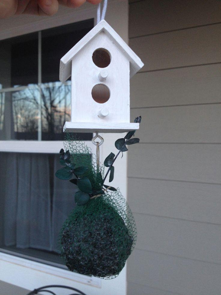 A Scandinavian Birdhouse