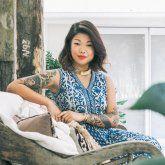 Hand Lettering for Chalk Murals | Lauren Hom | Skillshare kriedové nápisy krieda kurz online zadarmo? asi  videá arts art