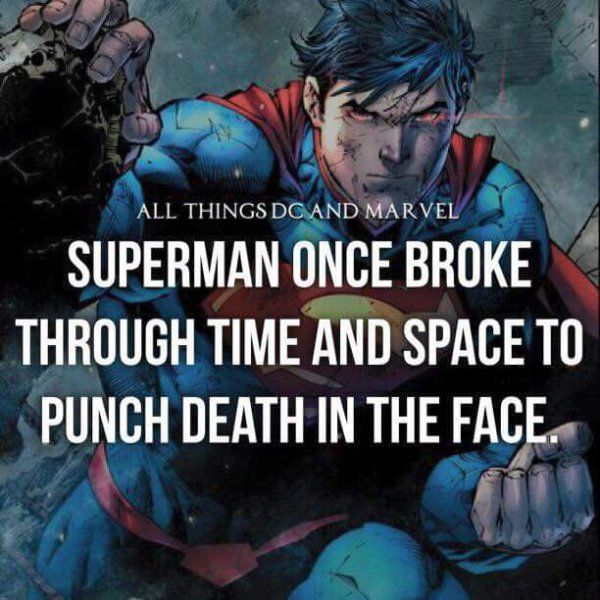 Marvel/DC super hero facts : theCHIVE