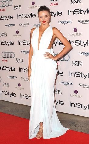 Miranda Kerr channels Marilyn Monroe at Women of Style Awards. In other news: We're jealous!