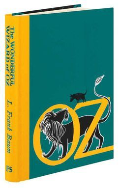 The Wonderful Wizard of Oz written by L. Frank Baum and illustrated by Sara Ogilvie. From the Folio Society.