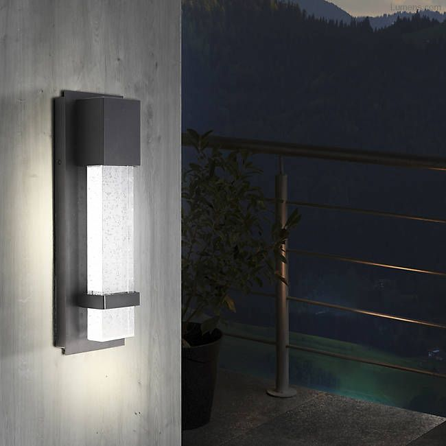 Venecia Led Outdoor Wall Sconce Outdoor Wall Sconce Indoor Wall Lights Modern Outdoor Lighting