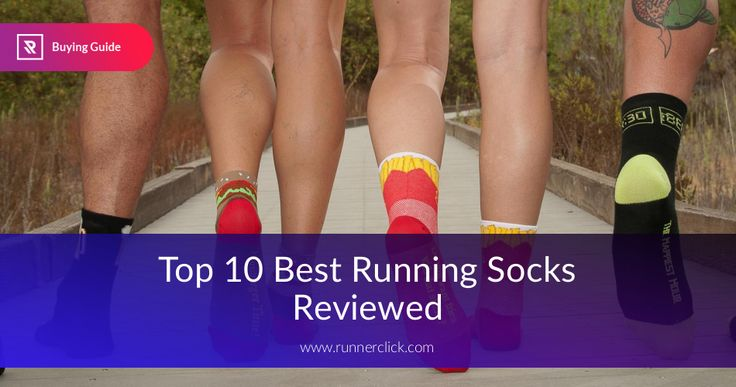 Top 10 Best Running Socks Reviewed