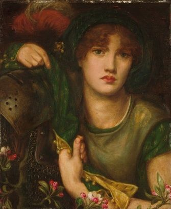 ♔ My Lady Greensleeves ~ Dante Gabriel Rossetti ~ (1828-1882)