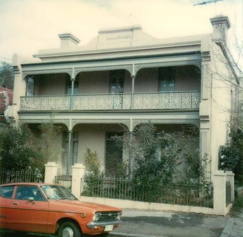 'Halloween', 99 Hotham Street, East Melbourne.