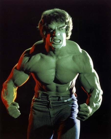 Lou Ferigno in the TV show The Incredible Hulk