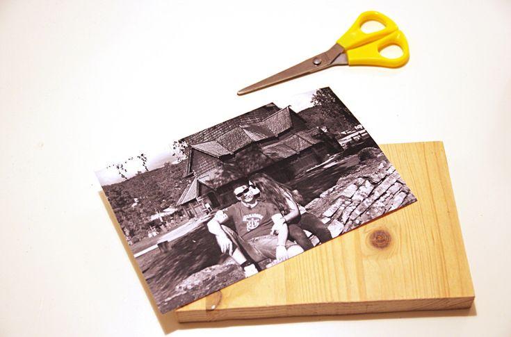 come trasferire un'immagine su legno - foto tutorial