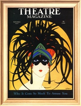 Theatre, Masks Magazine,19201920 S, Magazine Covers, Vintage, Art Prints, Masks Magazines, Theatres Magazines, Posters, Magazines Covers, Art Deco