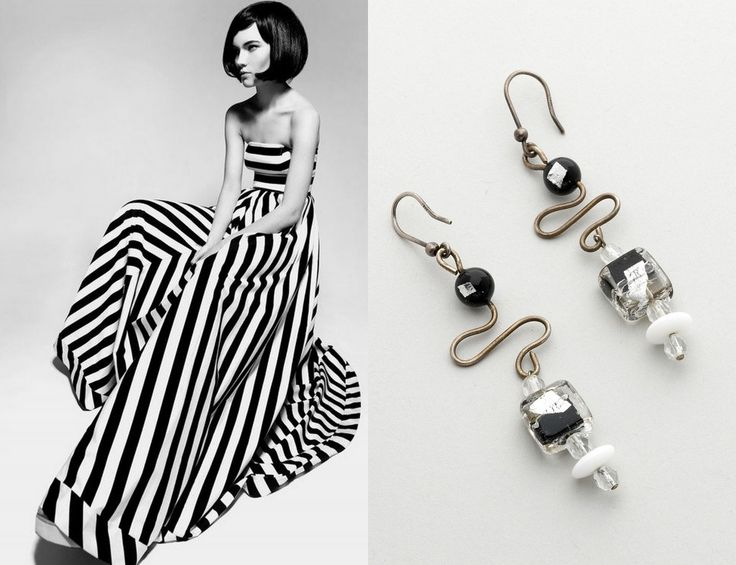 Black and white accessories for a summer in style