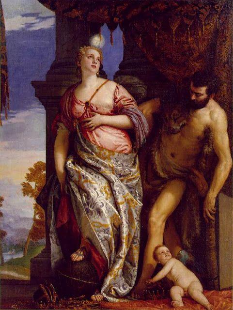 Αλληγορία για σοφία και δύναμη (1580)
