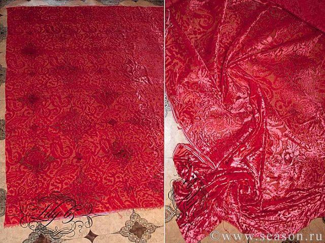 Швы для шитья сложных тканей: Шёлк, кружево, бархат. Мастер класс 4