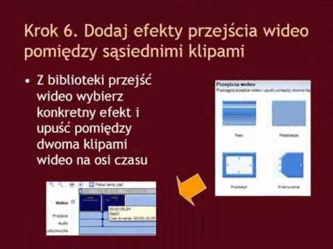 Instrukcja - jak zmienić prezentację PowerPoint w film z użyciem Windows Movie Maker