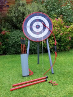 GARDEN ARCHERY SET OUTDOOR PUB BBQ PARTY CAMPING GAMES | eBay £19.95 +1 Postage