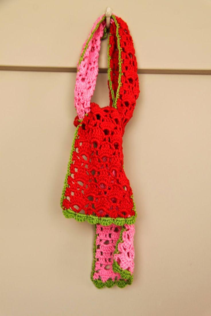 Ak at home : crochet * sjaaltje