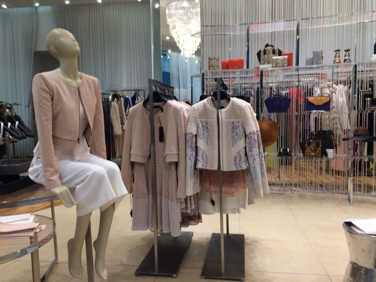 same as before, each type of clothes have mannequins to show people how is the look.