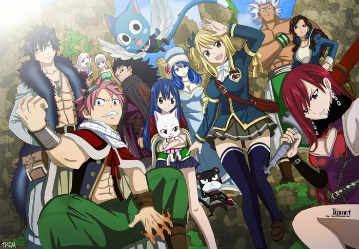 Top 10 Strongest Fairy Tail Characters List