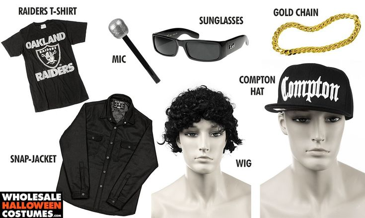 DIY Straight Outta Compton Eazy E Costume for Halloween