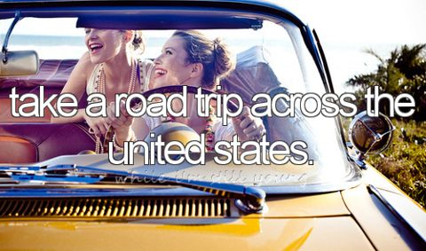 Take a road trip across the United States (US). / Bucket List Ideas / Before I Die / BLI_USStates