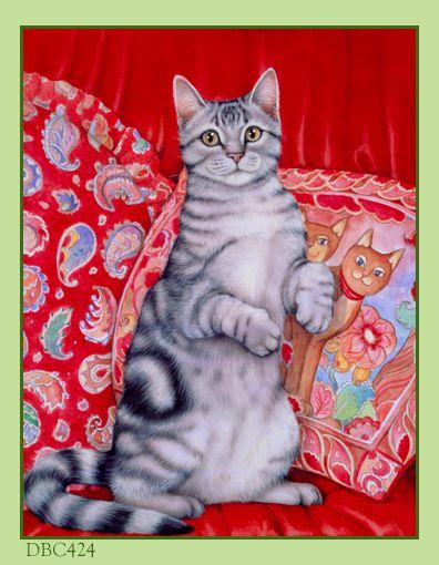 Short Pendant - Paisley Kittens by VIDA VIDA xPhLGENXMD